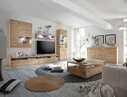 wohnzimmer esma 33 eiche bianco 7 teilig wohnwand beleuchtung expendio