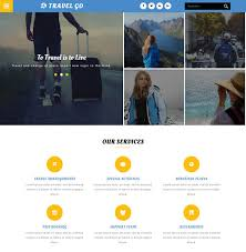 Travel Go Website 5 Bootstrap Template