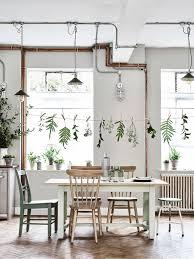 tischdekoration mit pflanzen das klassisch schlichte