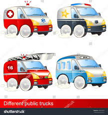 100 Different Trucks Public Stock Vector Royalty Free 102607289