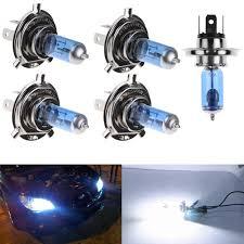 2pcs h1 h4 h7 55w 100w xenon gas halogen headlight white l bulb