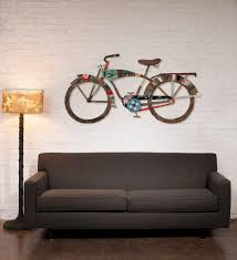 Fetco Home Decor Brinley Wall Art by Metal Bicycle Wall Decor 101design