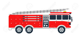 Fire Truck Rescue Engine Transportation And Vector Transport ...