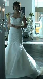 cat wedding dress wornontv s wedding dress on and the beast
