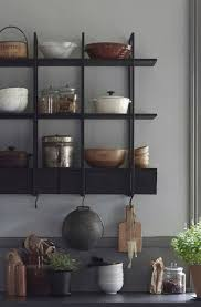 ikea regal küche schwarz