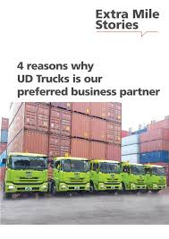 UD Trucks - 4 Reasons Why UD Trucks Is Our Preferred Business ... Ud Trucks Wikipedia To End Us Truck Imports Fleet Owner Quester Announces New Quon Heavyduty Truck Japan Automotive Daily Bucket Boom Tagged Make Trucks Bv Llc Extra Mile Challenge 2017 Malaysian Winner To Compete In Volvo Launches For Growth Markets Aoevolution Used 2010 2300lp In Jacksonville Fl