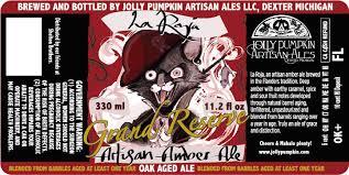 Jolly Pumpkin Dexter by Jolly Pumpkin La Roja Back In Grand Reserve Beer Street Journal