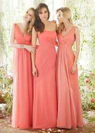 coral bridesmaid dresses to complete the beautiful day u2014 criolla