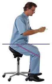 Dental Hygiene Saddle Chair by Taking The Backache Out Of Practicing Dental Economics