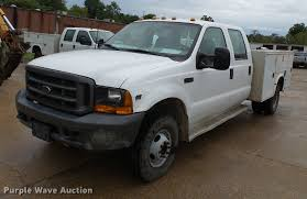 100 Pickup Truck Utility Beds 2000 Ford F350 Super Duty Crew Cab Utility Bed Pickup Truck