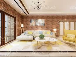 das schöne wohnzimmer design des modernen industriestils stockfoto und mehr bilder architektur