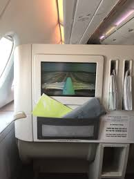 Upper Deck Redemption Problems by Trip Review Korean Air Business Class On The A380 Upper Deck Lax
