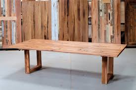 Recycled Timber Dining Tables Furniture On The Melbourne Showroom Floor