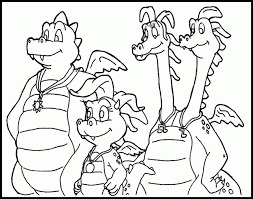 Print With Real Dragon Coloring Picture Pages 96 Additional For Kids Online