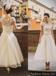 short wedding dresses with lace fashion dora