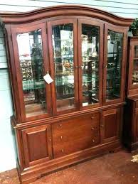Thomasville China Cabinet Furniture Dining Room Cabinets Used