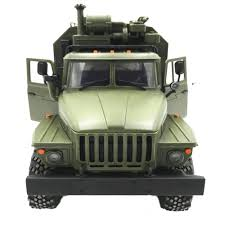 100 Rc Army Trucks WPL B36 Ural Truck Scale 116 24G 6WD RC Model Car Military