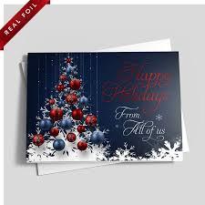 American Snowflake Christmas Tree Premium Foil By 123Print