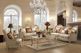 Traditional European Design Formal Living Room Sofa Set W Carved Regarding Furniture