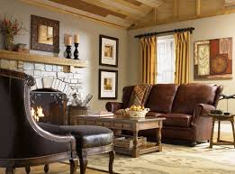 Classic Country Interior Ideas With Fireplace Stove