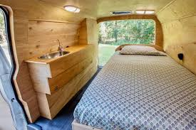 Digital Nomads Ultra Minimalist Van Conversion Includes Hidden