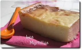 flan au four au lait d amande sans pâte les myrtilles bio