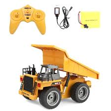 100 Kids Dump Truck US 1477 28 OFF6 Channel RC Construction Vehicle Er Model Toy Collection For Boys Birthday Gift Car Collection New On