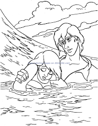 Cool The Little Mermaid Coloring Pages Disney Princess Ariel