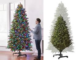 Expanding Holiday Trees Height Adjustable Christmas Tree