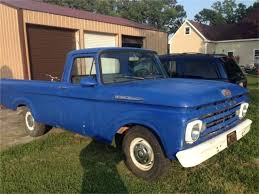 100 Ford Unibody Truck For Sale 1962 F100 For ClassicCarscom CC1156601