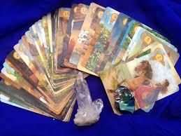 Mythic Tarot Deck Book Set by Tarot Of A Moon Garden 78 Cards Deck Karen Marie Sweikhardt