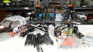 100 Truck Chassis Freestyle RC ZRD Scale Monster YouTube