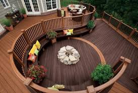 Wooden Pallet Backyard Deck Ideas