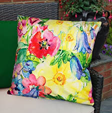 Amazon Uk Patio Chair Cushions by Colourful Waterproof Fibre Filled Outdoor Garden Cushions For