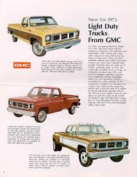 1973 Chevrolet And GMC Truck Brochures / 1973 GMC Pickups ... Car Brochures 1973 Chevrolet And Gmc Truck Zone Offroad 6 Lift Kit 2c23 Spencer101 1975 Silverado 1500 Regular Cab Specs Photos C10 Custom Deluxe Pickup For Sale Or Trade Lambrecht Classic Auction Update The Trucks Of The Sale More Is Never Enough 1979 Chevy K10 Lmc Life 30 Long Bed Pickup Truck Item 7286 1977 Hot Rod Network Crate Motor Guide To 2013 Gmcchevy Trucks Off Road Stepside Flareside Youtube Buildup Fixup Tour Photo Image Gallery