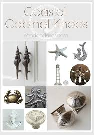 White Starfish Cabinet Knobs by Cabinet Knobs And Pulls