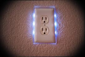 led light outlet covers install in seconds use just 5 cents