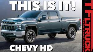 2020 Chevy Silverado HD: You Won't Believe The Way It Looks! - YouTube 2017 Chevy Silverado 2500 And 3500 Hd Payload Towing Specs How New For 2015 Chevrolet Trucks Suvs Vans Jd Power Sale In Clarksville At James Corlew Allnew 2019 1500 Pickup Truck Full Size Pressroom United States Images Lease Deals Quirk Near This Retro Cheyenne Cversion Of A Modern Is Awesome 2018 Indepth Model Review Car Driver Used For Of South Anchorage Great 20