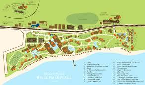 100 Constance Belle Mare Plage Resort Eine Karte Vom Auf