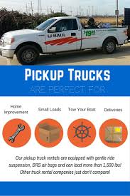 People Rent Pickup Trucks From U-Haul Every Day For A Wide Range Of ...