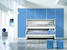 Bedroom For Teens Teenage Girl Ideas Wall Colors Blue White Decorating Compact Wooden Loft