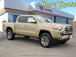 New 2018 Toyota Tacoma Limited Double Cab 5 Bed V6 4x4 AT For Sale ...