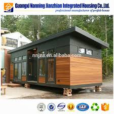 100 Prefab Container Houses New Design Fire Resistant 40 Ft Flat Pack Ricated