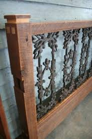 Wrought Iron King Headboard by Wood And Wrought Iron Headboards Foter