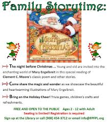 Twas The Night Before Halloween Book by Twas The Night Before Christmas U2013 Family Storytime Sat Dec 12