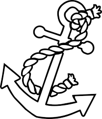 See 8 Best Images Of Cute Anchor Printables Cut Out Template Printable Coloring Pages Free Nautical