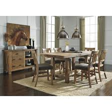 Large Picture Of Tamilo D714 7 Pc Counter Height Dining Set