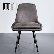 braun grau leder rückenlehne esszimmer stuhl kaffee shop restaurant stuhl etwas alt matt textur