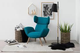 ohrensessel türkis grün blau textil ohrensessel sessel