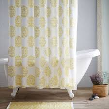 west elm medallion shower curtain